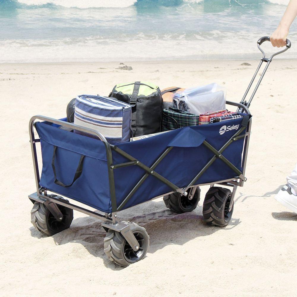 comparatif chariot de plage