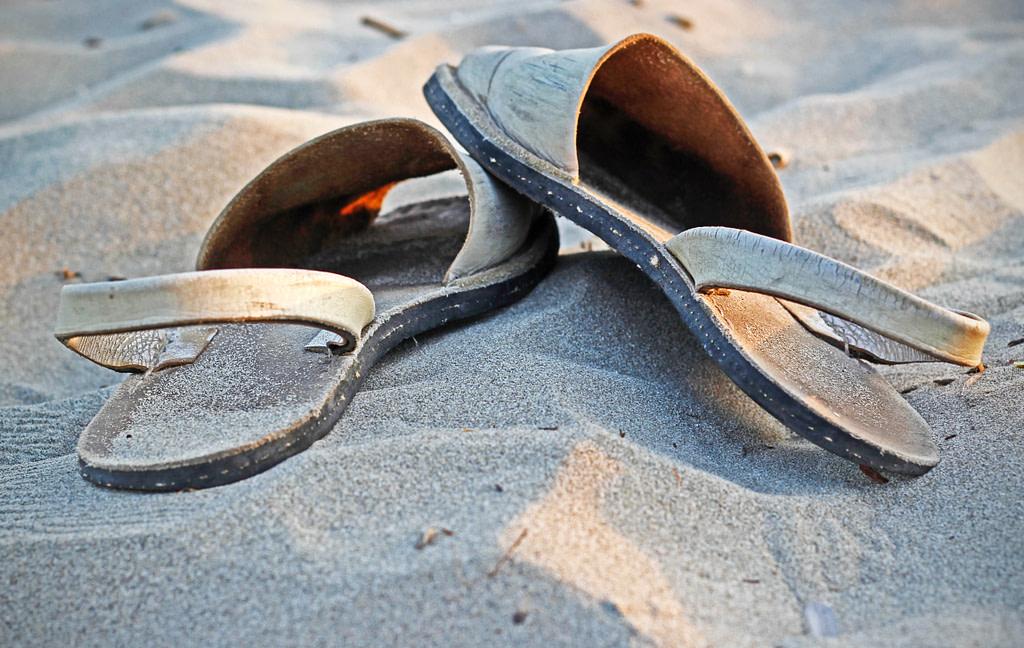 comparatif chaussures de plage