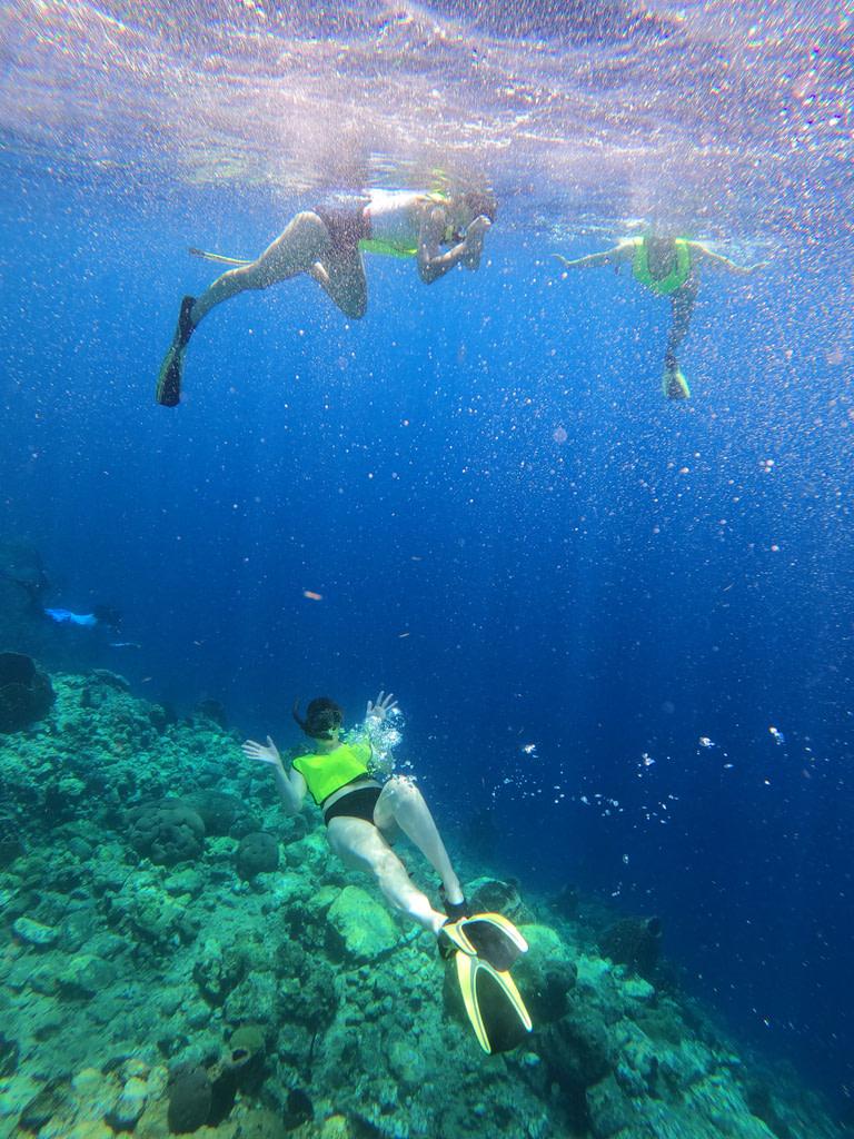 Kit de snorkeling