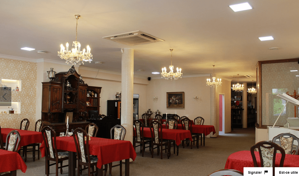 restaurant chateau slovaquie
