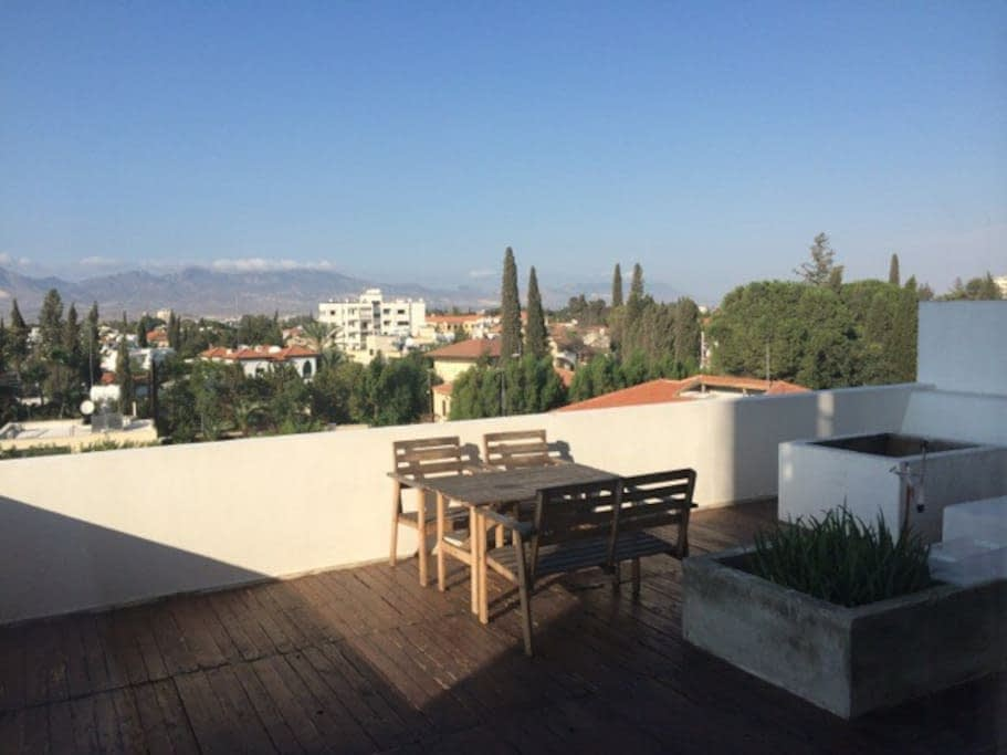 Nicosia A Terrace With A View