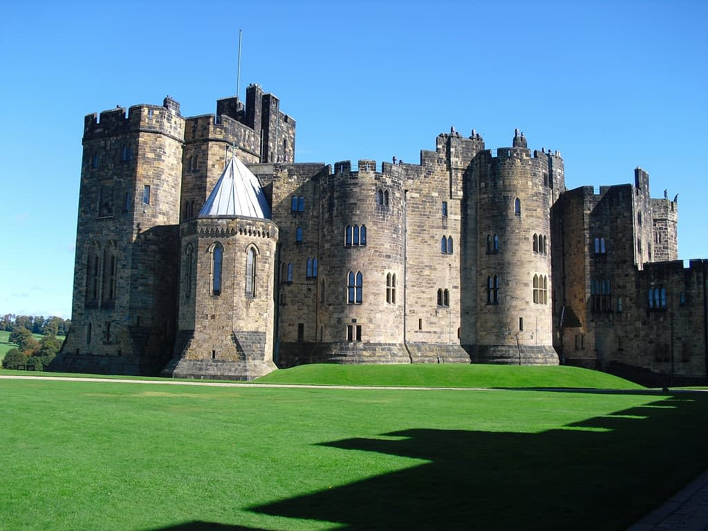 alnwick chateau harry potter
