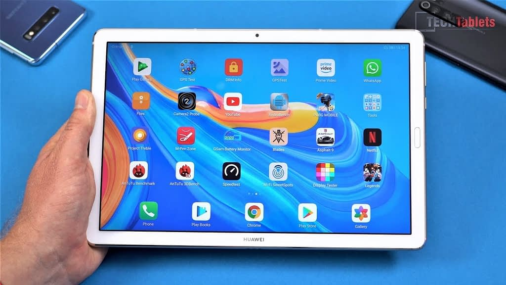 Test Huawei Mediapad M6