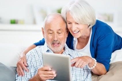 Tablette pour seniors