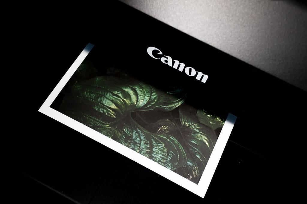 Comparatif imprimante Canon