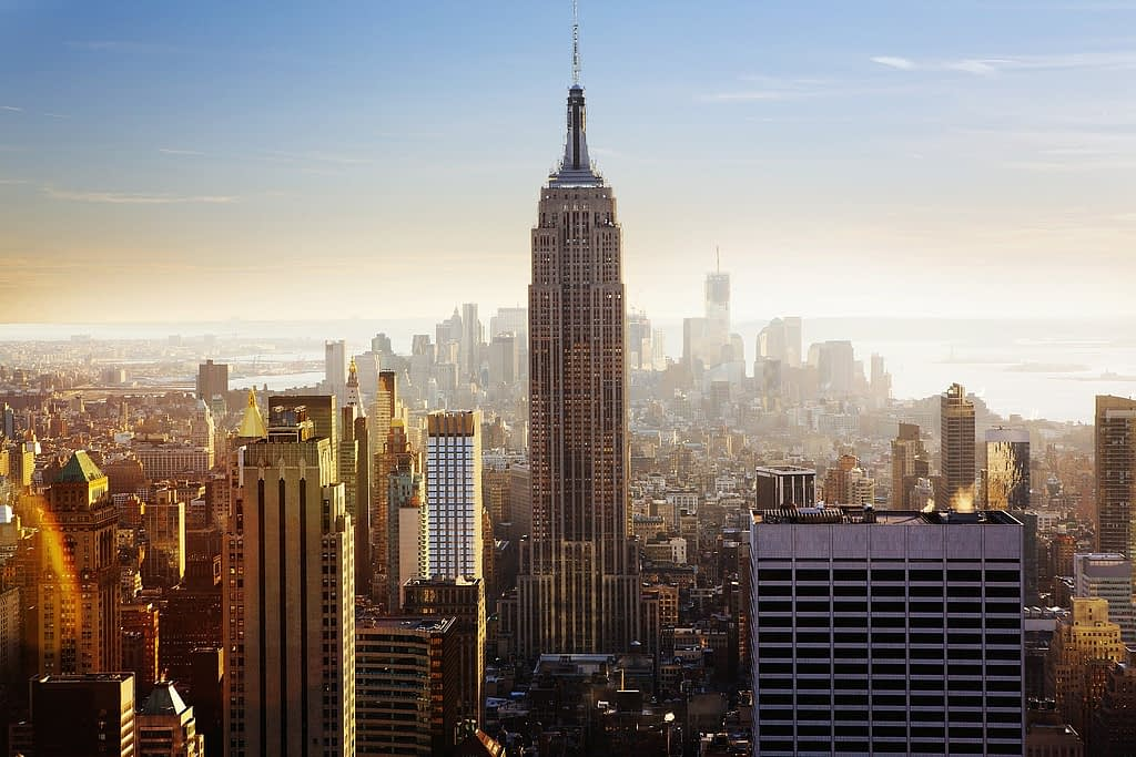 empire state building new york visiter