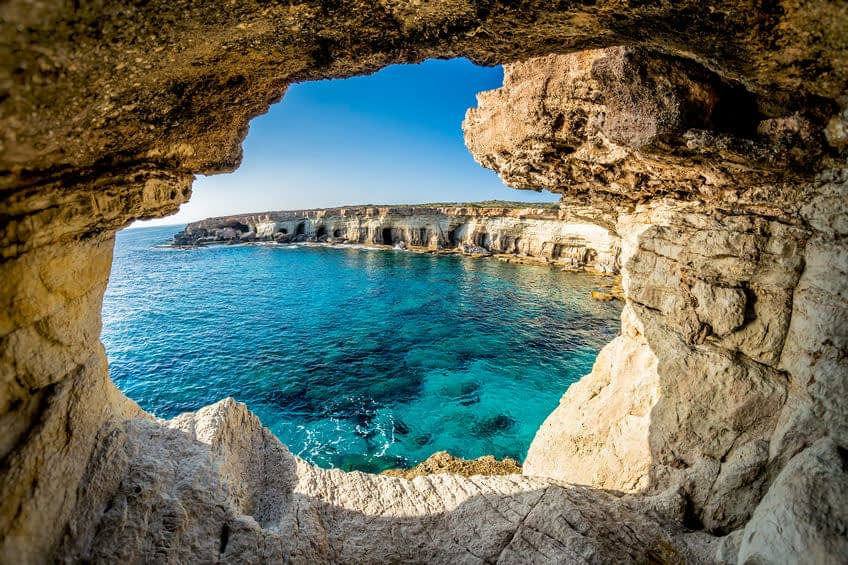 sea caves chypre